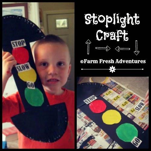 Stoplight Craft Poppins Book Nook