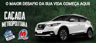Cadastrar Promoção Caçada Metropolitana Club Social Crostini Carro 0KM