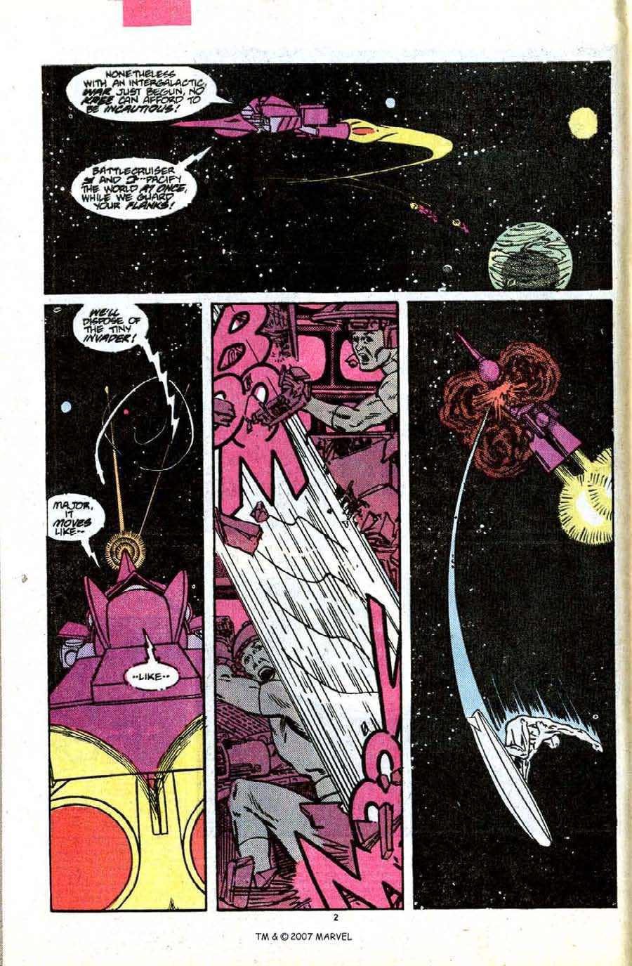 Read online Silver Surfer (1987) comic -  Issue #7 - 4