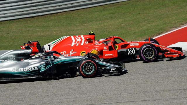 Kimi Räikkönen se lleva el GP de EU y deja en suspenso la coronación de Hamilton