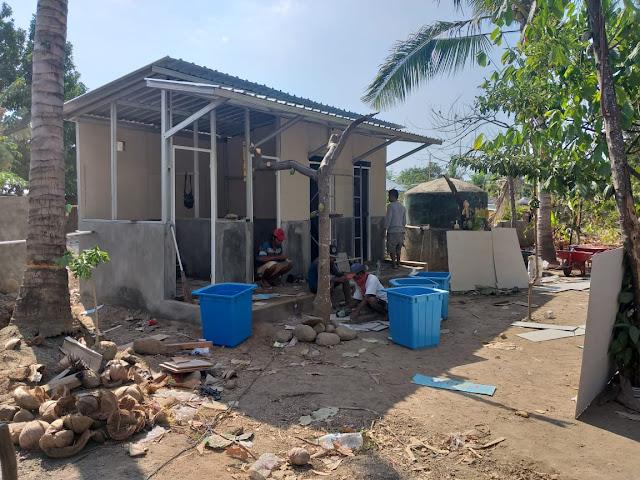 Dharma Pertiwi Bangun Sumur Solar Sel Untuk Korban Gempa Lombok