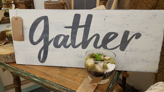 Gather sign tutorial