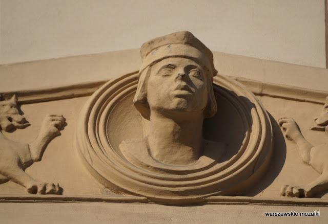 Warszawa Warsaw kamienica balkon żeliwny Maria Zachwatowicz Stanisław Potocki Lanci