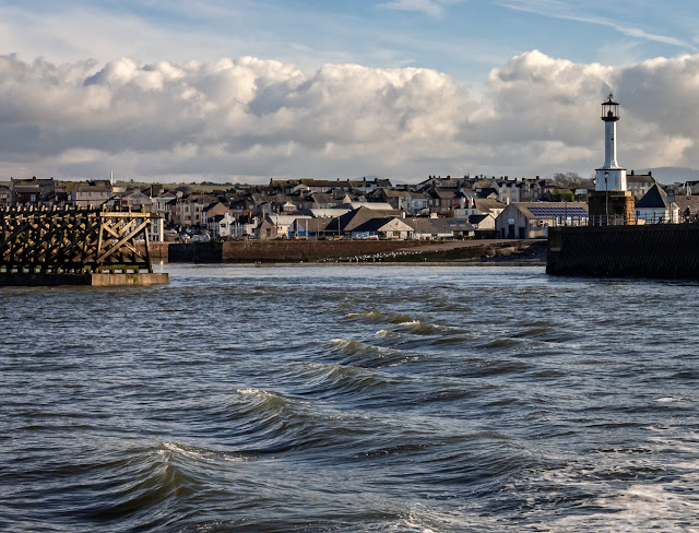 Photo of leaving Maryport on our way out to Three Fathom Bank