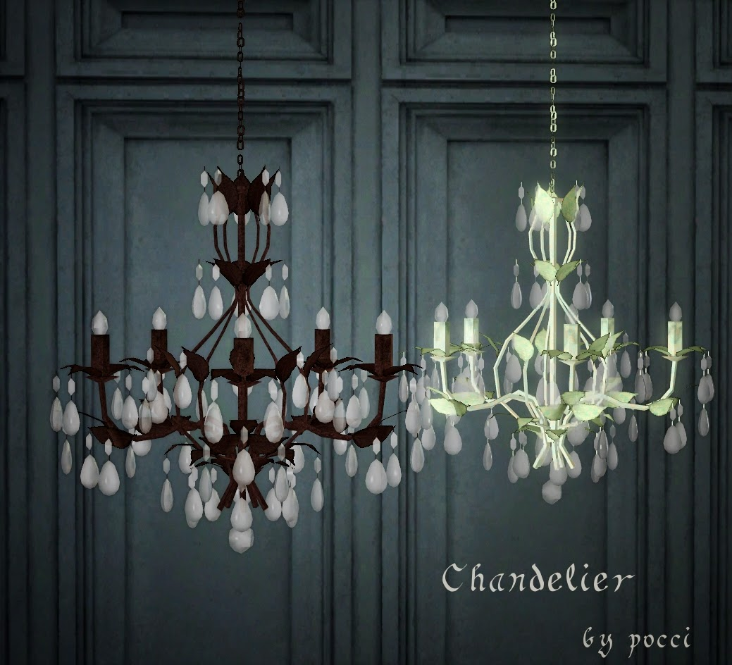 My Sims 3 Blog Chandelier By Pocci
