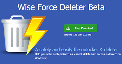 Wise Force Deleter Free Software
