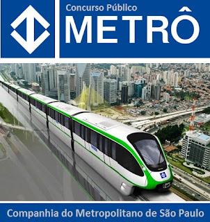 Inscrição Concurso Metrô-SP 2016