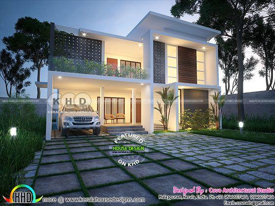Contemporary home - April 2018 house designs