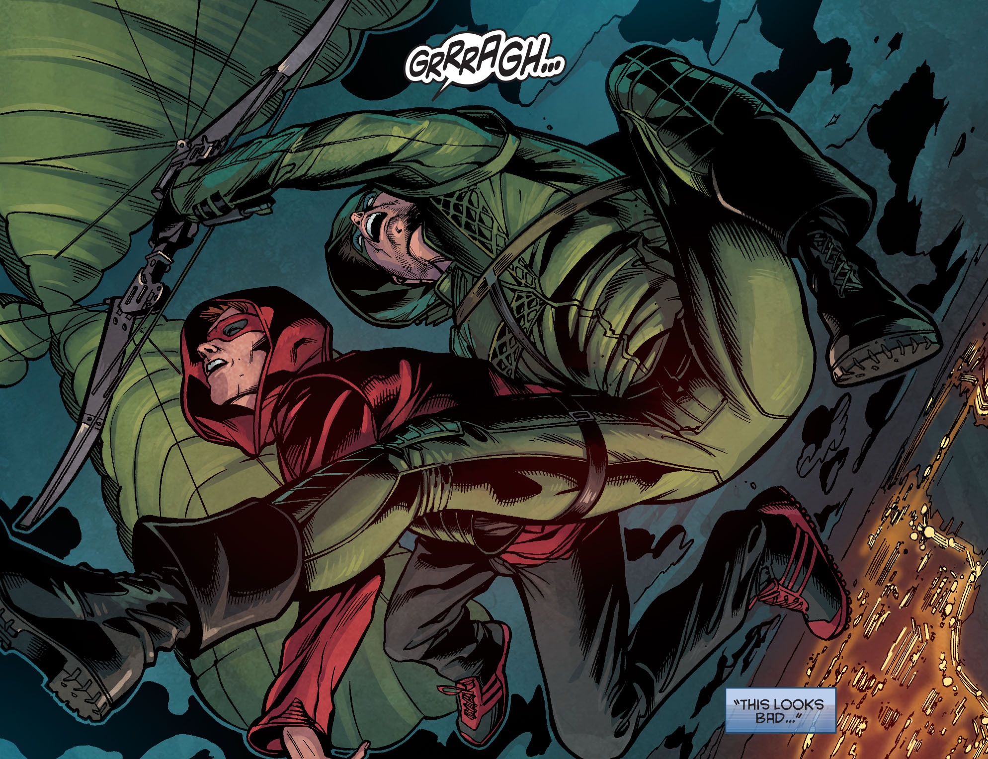 Read online Arrow: Season 2.5 [I] comic -  Issue #2 - 7