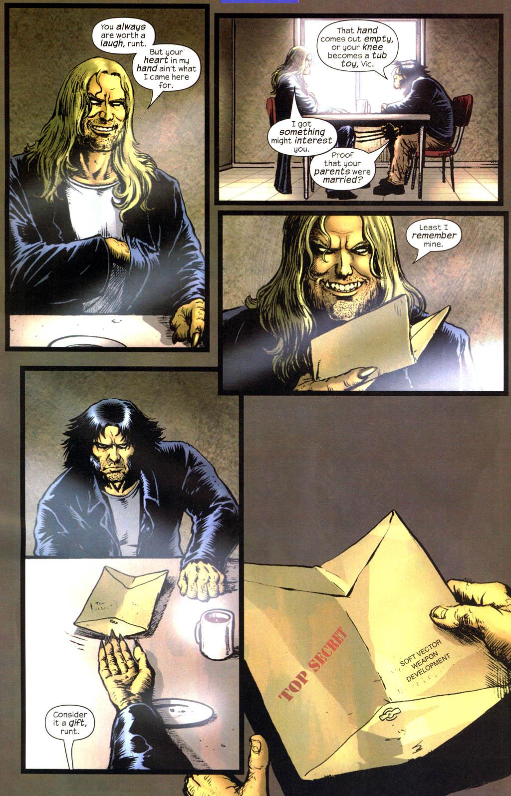 Read online Wolverine (2003) comic -  Issue #13 - 21