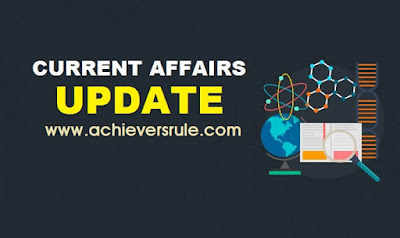 Current Affairs Updates - 1st April 2018