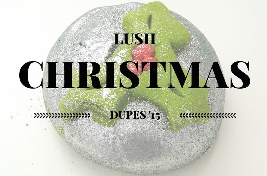 an image of Lush Christmas Dupes 2015