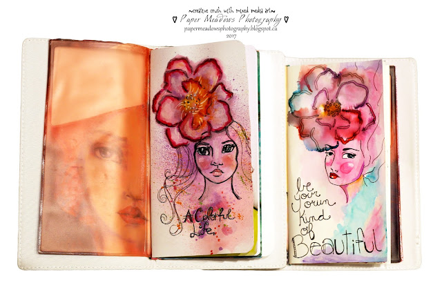 Paper Meadows Photography Blog-Mixed Media Art Crush-Butterfly journal books