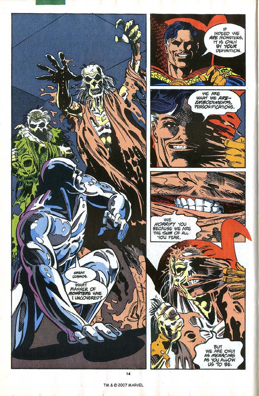 Read online Silver Surfer (1987) comic -  Issue #58 - 16