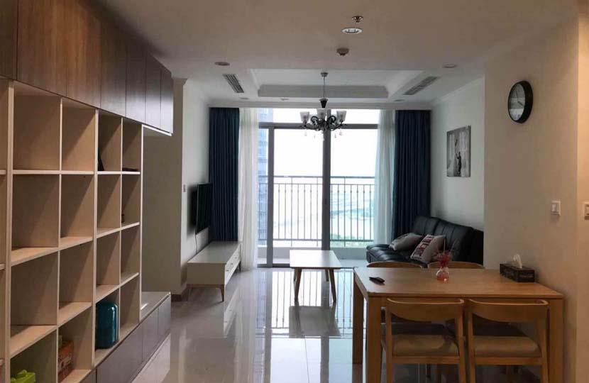 Cho thuê L2 Vinhomes Central Park 80m2 căn hộ tầng 23