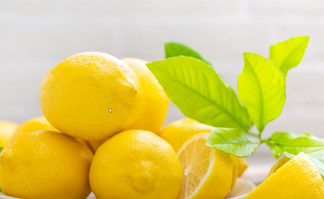 how to stop hair fall lemon