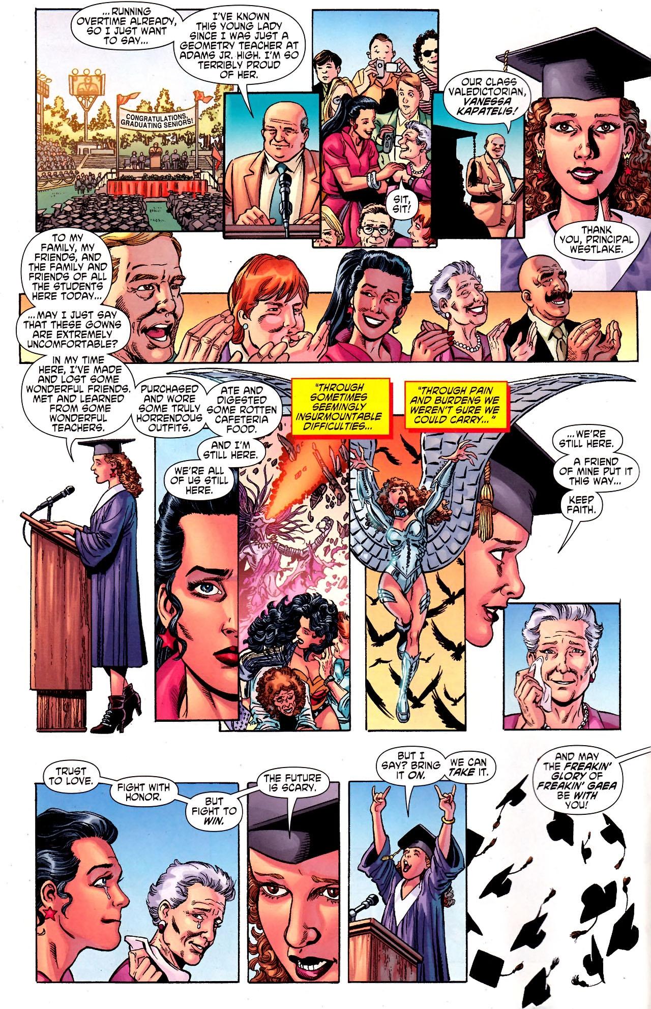 Read online Wonder Woman (2006) comic -  Issue #600 - 8
