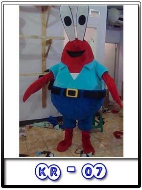 Jual Kostum Badut Mr. Krabs Kr-07 Karakter Terbaik Di Bandung