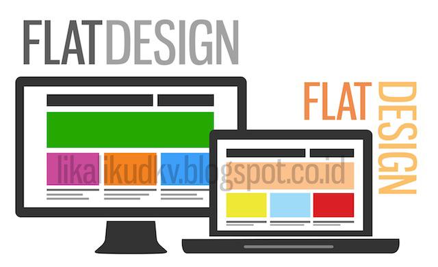 Flat Design. Tren Desain Grafis Kekinian!