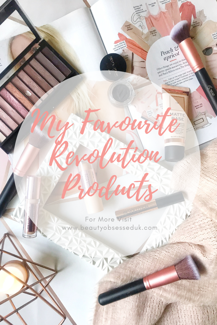 my favourite revolution products pinterest graphic