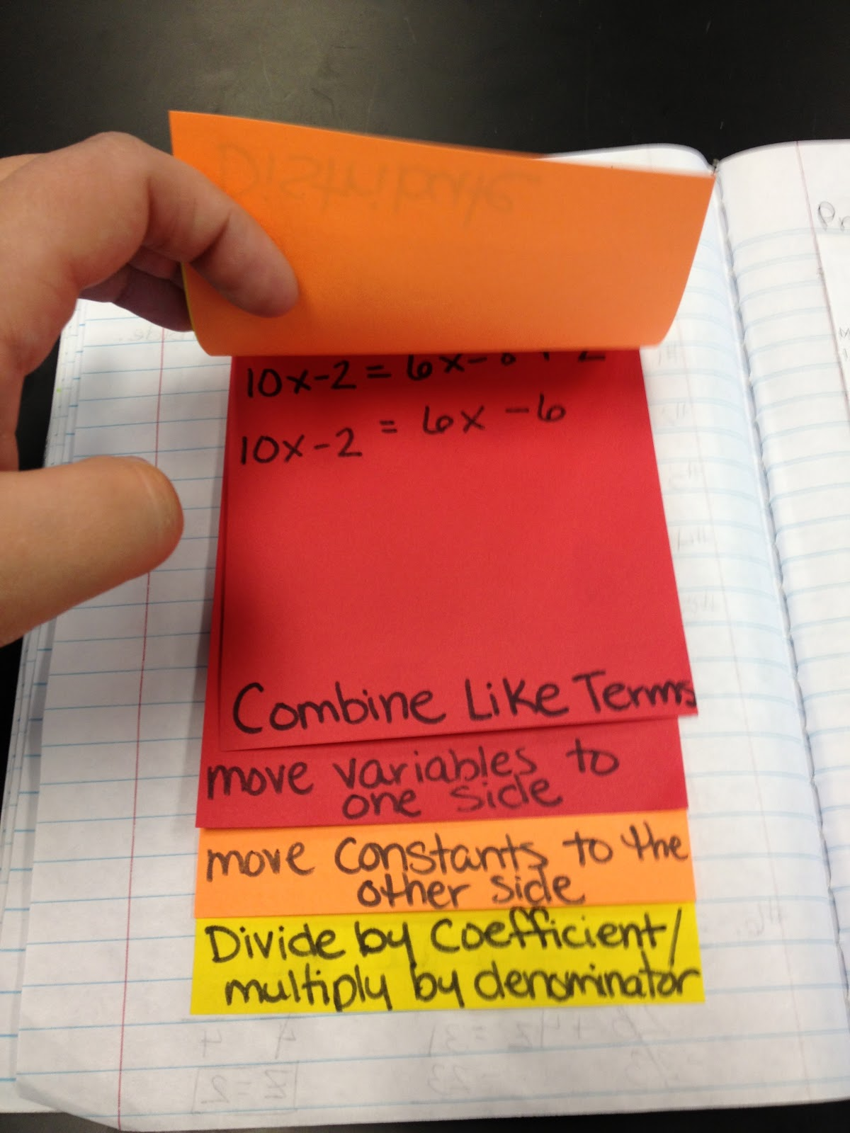 Teaching In Special Education Solving Linear Equations