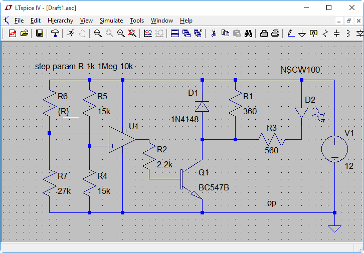 Free EDA: Design and simulation with LTspice · One Transistor