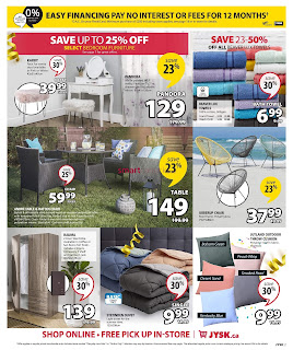 JYSK Weekly Flyer May 2 - 8, 2019