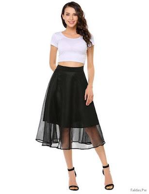 Faldas Largas de Fiesta