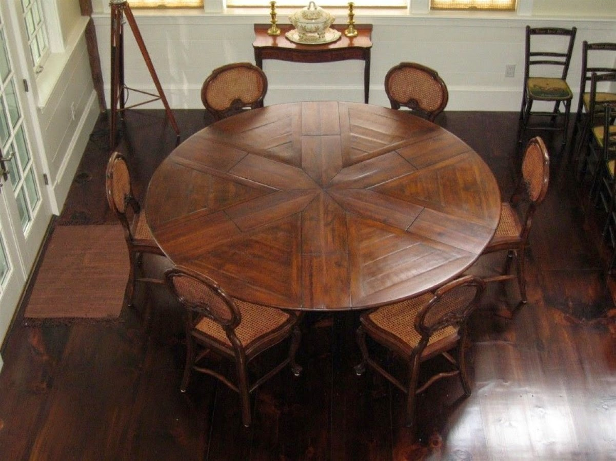 Home Priority Outstanding Round Expandable Dining Table