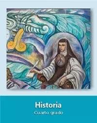 Libro de texto  Historia Cuarto grado 2019-2020