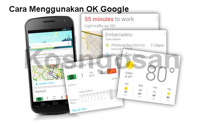 Bagaimana cara menggunakan ok google search di android