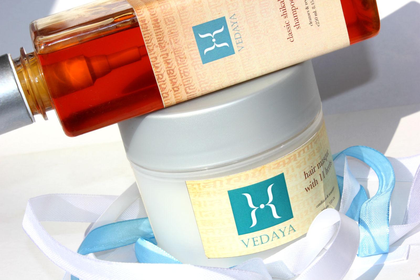 Отзыв: Красота по-индийски: Классический Шикакай Шампунь и Маска для волос 11 трав. VEDAYA Classic shikakai shampoo and Hair masque with 11 herbs.