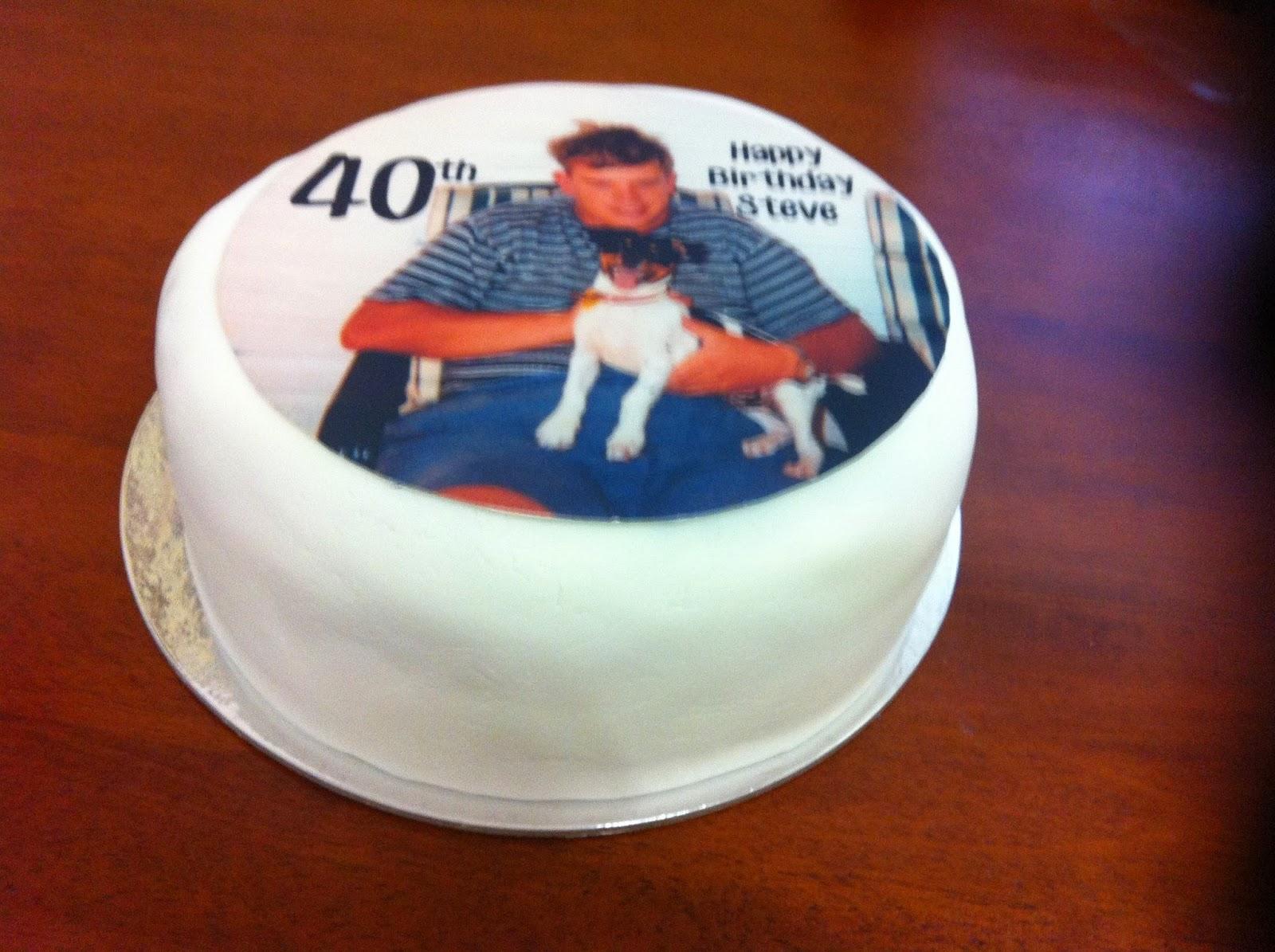 Happy 40th Birthday Steve