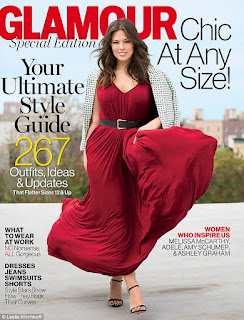 Chic at any size Glamour magazine Cover