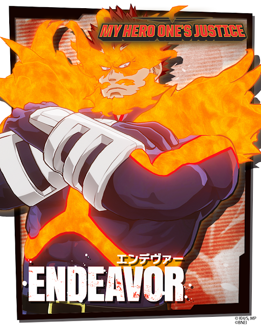 "Endeavor se une a ""My Hero One's Justice""."