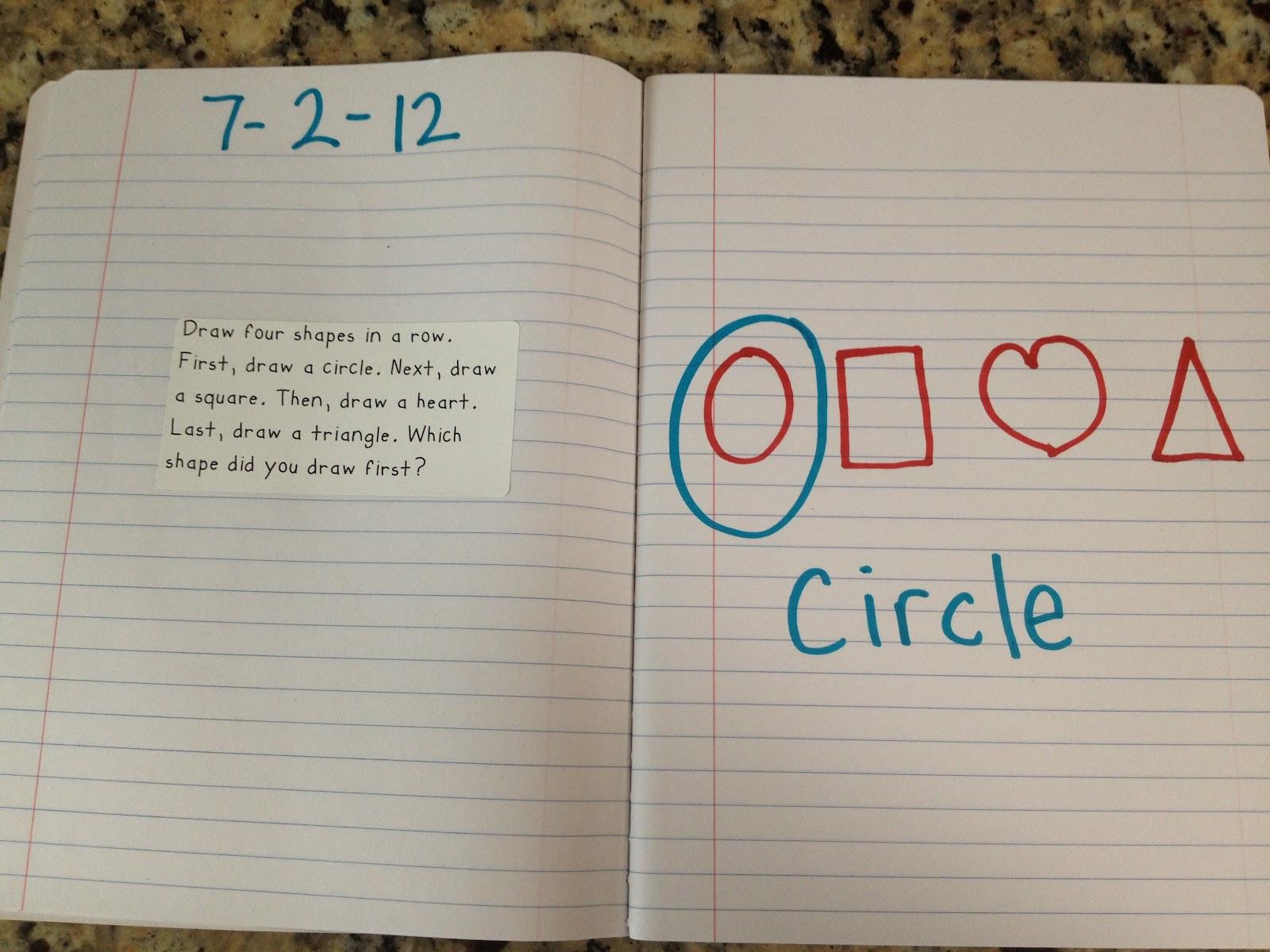 Krazee 4 Kindergarten 180 Kindergarten Math Journal