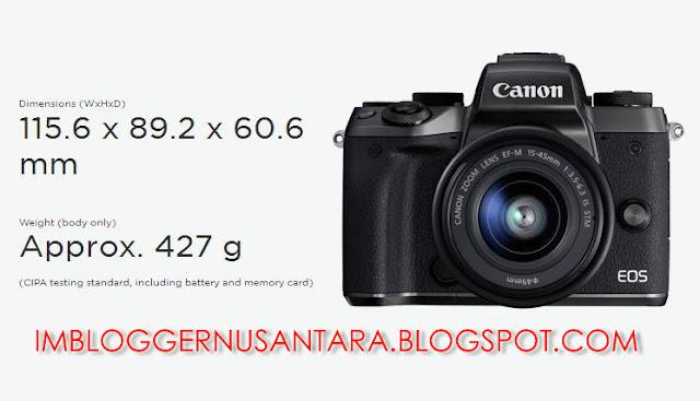 Gambar Kamera Mirrorless Canon EOS M5