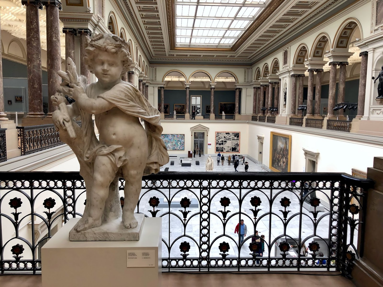 Royal Museums of Fine Arts in Brussels, Belgium