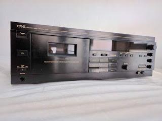 Dijual Barang Koleksi Pribadi  Tape Deck Nakamichi CR-5