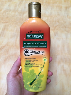 malungay herbal conditioner and shampoo