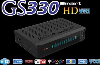Atualizacao do receptor Globalsat GS 330 Smart HD V