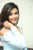 Anisha Ambrose Latest Pos Skirt at Fashion Designer Son of Ladies Tailor Movie Interview .COM 0670.JPG