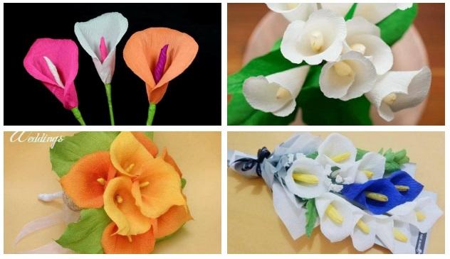 Como Fazer Flores De Papel Crepom Como Fazer