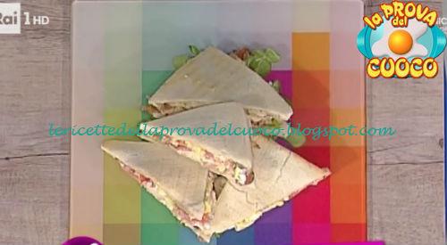 Ricetta dei Sandwich da Prova del Cuoco