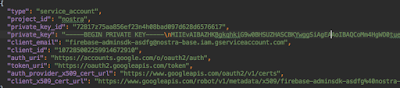 json-firebase-credential