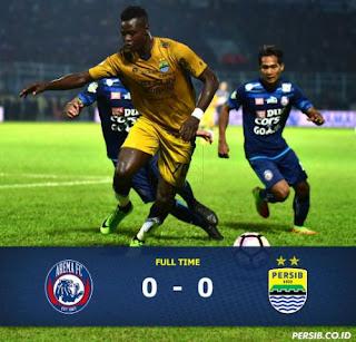 Arema FC Protes Keabsahan Striker Asing Persib Bandung Ezechiel
