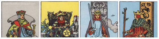 significado dos reis no tarot amor