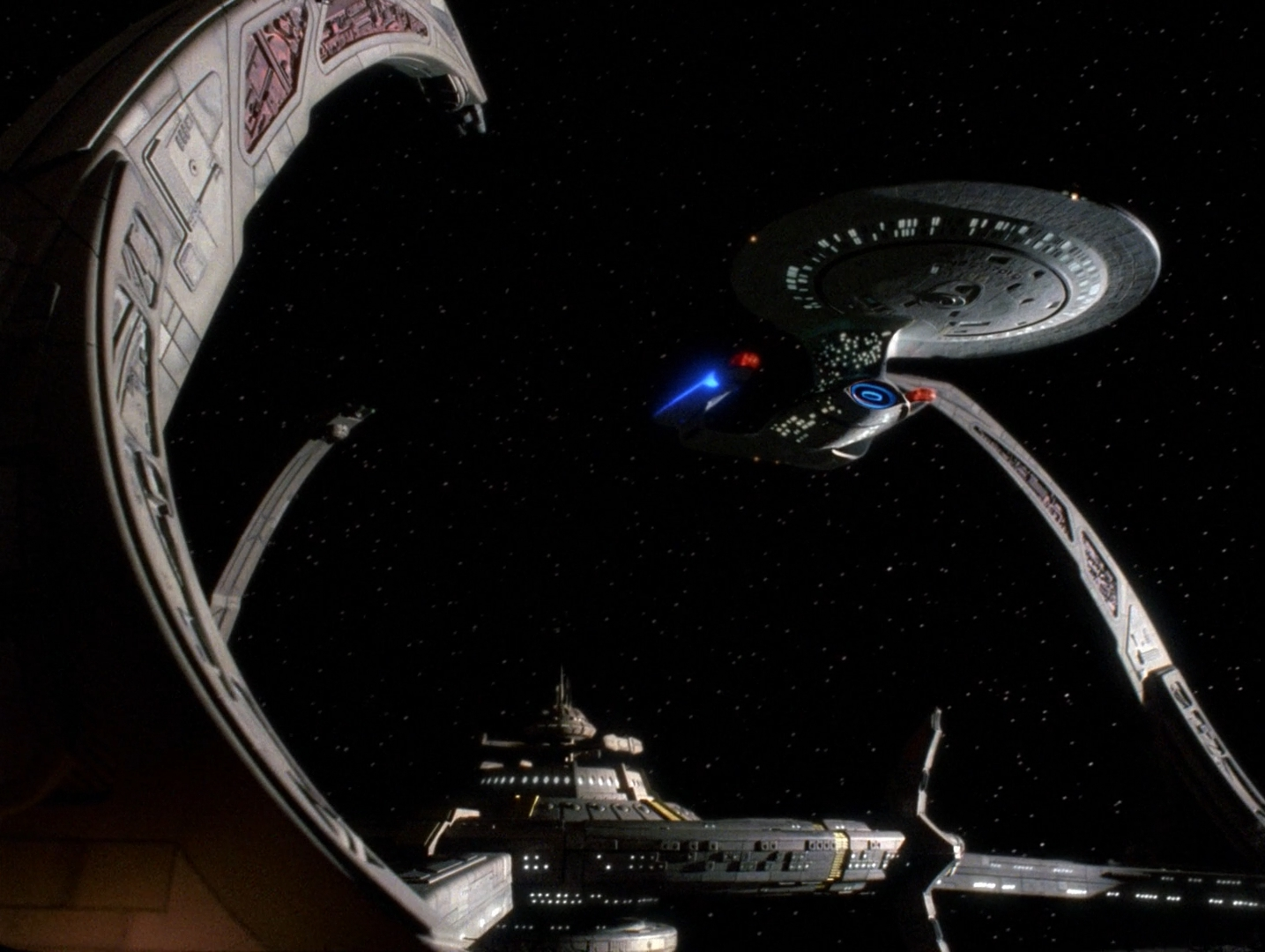 the new ds9 space station - photo #17