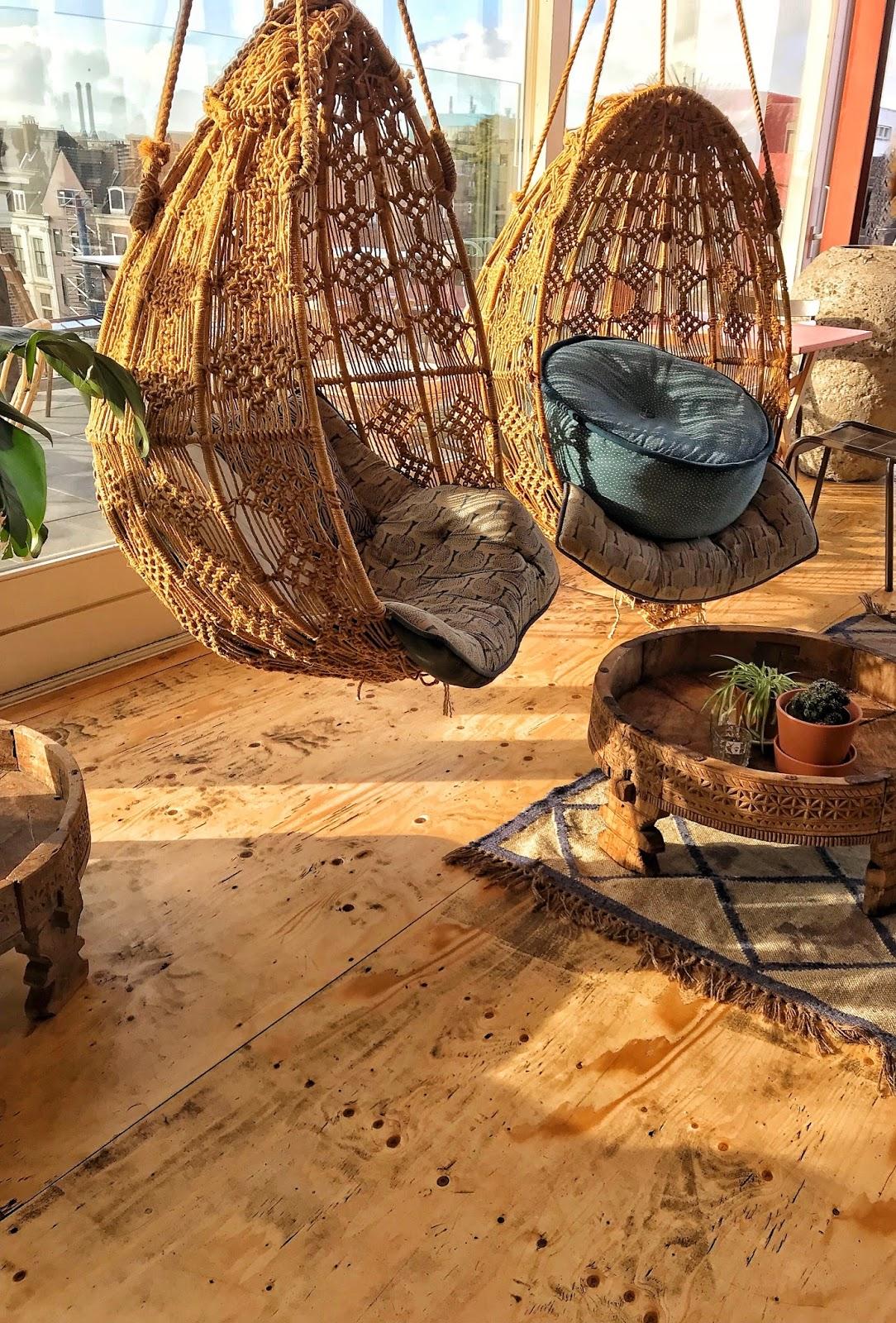 Rustic interiors at Bleyenberg Grote Markt Den Haag