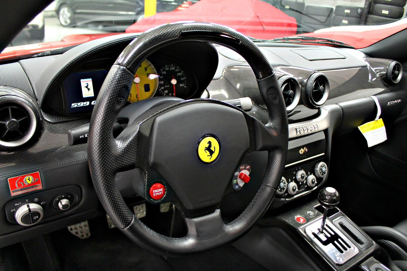 rare manual ferrari 599 gtb arrives on ebay carscoops. Black Bedroom Furniture Sets. Home Design Ideas